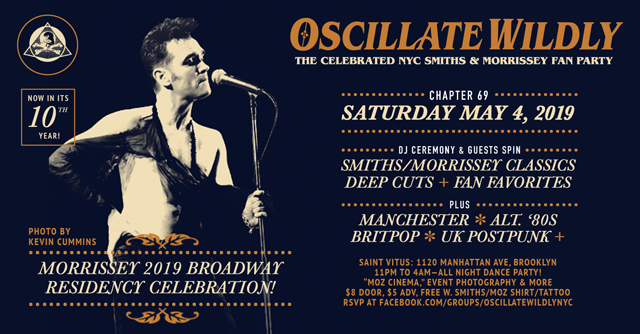 """[NYC] """"Oscillate Wildly""""—The Celebrated NYC Smiths"""